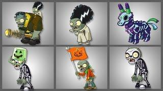 getlinkyoutube.com-Plants Vs Zombies 2 Los Zombies de Halloween Patio de la Condenación Parte 4
