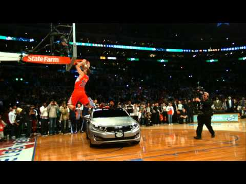 PHANTOM: Blake Dunks Over a CAR!