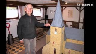 St. Laurentius Kirche im Modell (1:20) von Hans Bahde