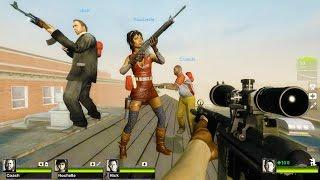 getlinkyoutube.com-Left 4 Dead 2 - Dead High School Custom Campaign Gameplay Walkthrough