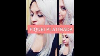 getlinkyoutube.com-Platinando o cabelo com Intensy Color !!