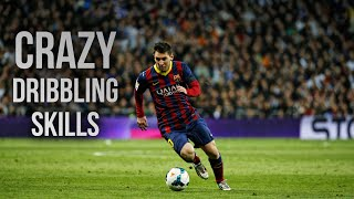 getlinkyoutube.com-Lionel Messi ● Crazy Dribbling Skills ● 2014