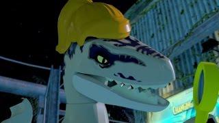 LEGO Jurassic World - 100% Level Guide #14 - Communications Center (All 10 Minikits/Amber Brick)