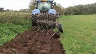 getlinkyoutube.com-ploughing the maize field. part 1