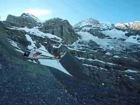 Swiss Alps Eiger Mushroom Base Jump 07/04/2016