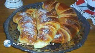 getlinkyoutube.com-كرواصة سهلة / croissant facile