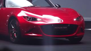 getlinkyoutube.com-NDロードスターお披露目 (高画質版)Mazda Roadster Thanks Day In Japan 2014.9.4 白いのもいるよ