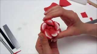 getlinkyoutube.com-Realizzare una rosa con la tecnica delle canes (murrine)
