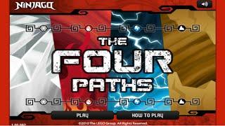 getlinkyoutube.com-Cartoon Network Games: Lego Ninjago - The Four Paths [Full Gameplay Episode]