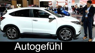 getlinkyoutube.com-2016 all-new Honda HR-V Mini SUV IAA REVIEW exterior/interior - Autogefühl