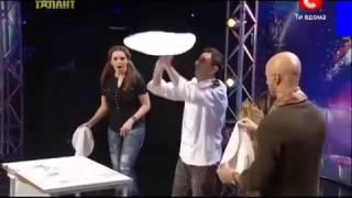 getlinkyoutube.com-Украина мае талант 5 сезон - Винченцо Дилилло (Пицца)