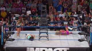 getlinkyoutube.com-Knockouts Ladder Match: Gail Kim and Taryn Terrell - July 11, 2013