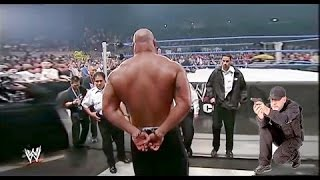 Bill Goldberg Attacks Brock Lesnar - Bill Goldberg Arrested By Paul Heyman - Goldberg vs Brock width=