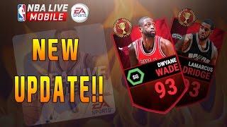 getlinkyoutube.com-NBA LIVE Mobile NEW UPDATE!! LEAGUE vs LEAGUE MASTERS!!!