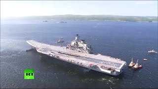getlinkyoutube.com-RT - Russia Navy Day Parade 2014 : Full Military Assets, Drills & Performances [720p]