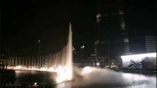 getlinkyoutube.com-نافورة برج خليفة ترقص على أنغام أم كلثوم (انت عمري) Burj Khalifa Fountain Om Kalthom Song Enta Omri