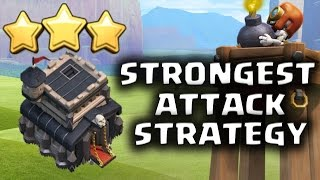 getlinkyoutube.com-EASY 3 STARS!! STRONGEST TH9 WAR ATTACK STRATEGY POST BOMB TOWER UPDATE | Clash of Clans