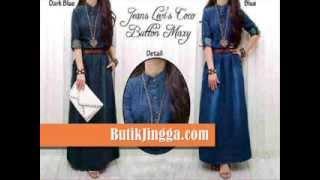 getlinkyoutube.com-Maxi Dress Hijabers Untuk Wanita dan Remaja - Koleksi Baju Gamis Wanita Muslimah