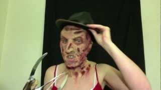 getlinkyoutube.com-Freddy Krueger Fx Makeup Tutorial