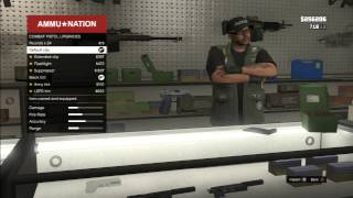getlinkyoutube.com-قلتش شراء وتطوير كل الاسلحه مجاناً  بقراند الجديد !! - how to  upgrade all weapons for free -GTA V