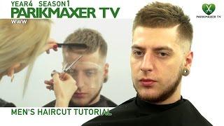 Мужская стрижка. Современный стиль. ✮ Men's Haircut Tutorial парикмахер тв parikmaxer.tv