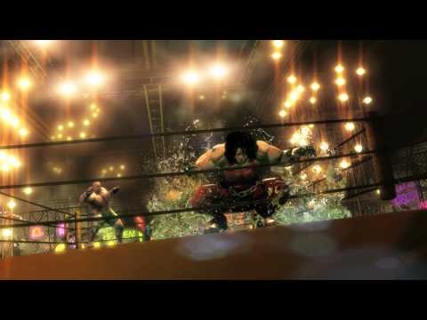 Street Fighter X Tekken Comic Con 2011 Cinematic Trailer