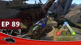getlinkyoutube.com-ARK Survival Evolved - Defending the base of Venom -| Ep 89