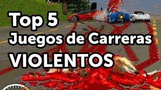 getlinkyoutube.com-Top 5 - Juegos de Carreras Violentos