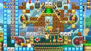getlinkyoutube.com-スーパーマリオメーカー (Super Mario Maker) - 100人マリオチャレンジ part13