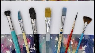 getlinkyoutube.com-All about Watercolour brushes.