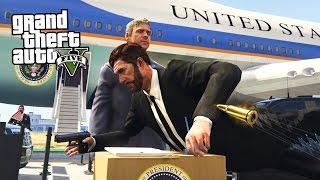 getlinkyoutube.com-SAVING THE PRESIDENT!! (GTA 5 Mods)