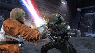 getlinkyoutube.com-Force Unleashed - Darth Starkiller vs Luke Skywalker & Fallen Luke HD