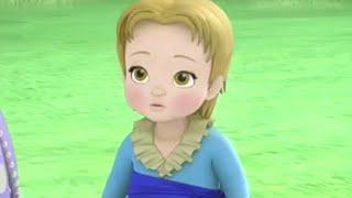 getlinkyoutube.com-Sofia The First - 2 Princesses & A Baby - Cedric turns James Into A Baby! - Disney Junior UK HD