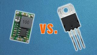 getlinkyoutube.com-Buck converter vs. linear voltage regulator - practical comparison