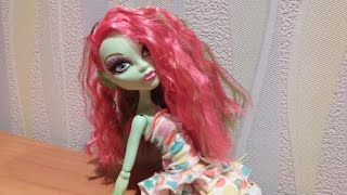 getlinkyoutube.com-Как сделать платье для куклы (мастер класс)