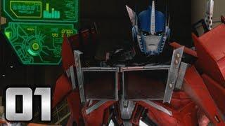 getlinkyoutube.com-Transformers: Prime: The Game - Part 1 - Into the Breach