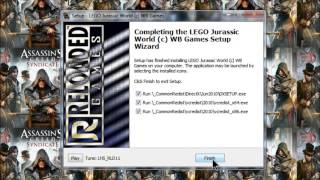 getlinkyoutube.com-Instalando Lego Jurassic World Reloaded 2015