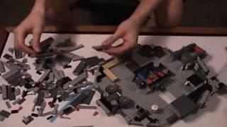 getlinkyoutube.com-Nerd Girl Lego Millenium Falcon