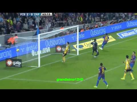 [HD]  FC Barcelona vs Zaragoza 4-0 Highlights and goals from La Liga/LIGA BBVA 2011-11-19/20