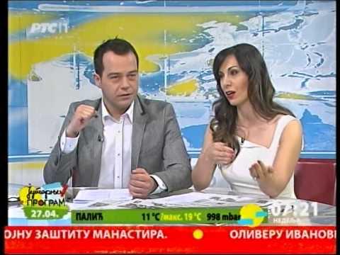 Jutarnji program RTS 27.04.2014.  Pregled stampe o formiranju nove Vlade Srbije.