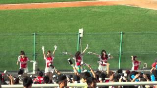 台湾プロ野球の応援風景 Lamigoモンキーズ 1 2013.6.15