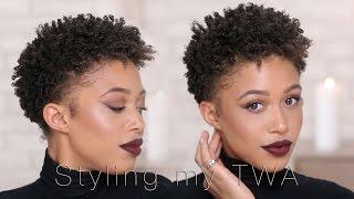 getlinkyoutube.com-How I Style My Short Hair   TWA   Jaleesa Moses