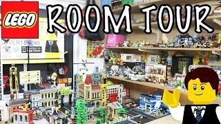 getlinkyoutube.com-MY LEGO ROOM/ STUDIO TOUR of 2016! BRICKLOVER18