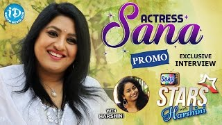 getlinkyoutube.com-Actress Sana Exclusive Interview - Promo || Soap Stars With Harshini #1