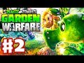 Plants vs. Zombies: Garden Warfare - Gameplay Walkthrough Part 2 - Welcome Mat (Xbox One)