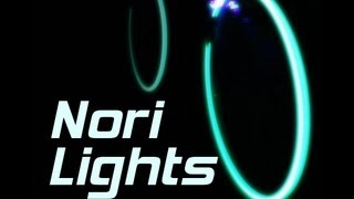 getlinkyoutube.com-Glowing Bicycle Wheels Kit - Nori Lights