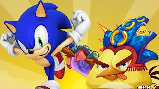 Angry Birds Epic - Huge Update Sonic Dash Event New Character Sonic Unlocked!