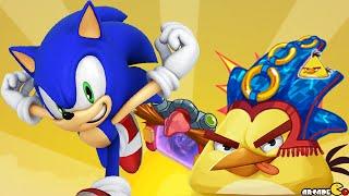 getlinkyoutube.com-Angry Birds Epic - Huge Update Sonic Dash Event New Character Sonic Unlocked!