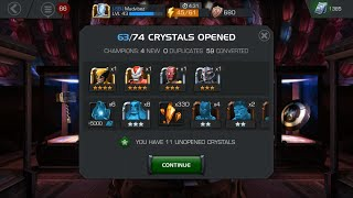 getlinkyoutube.com-MARVEL: Contest of Champions - OPENING $250 WORTH IN PREMIUM CRYSTALS - 4 STAR x2!