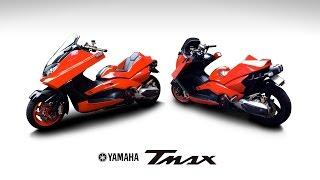 ヤマハTMAX500を金田のバイク風にカスタムしてみた 2012年現在 その1